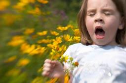 Prevenirea alergiilor de primăvară la copii