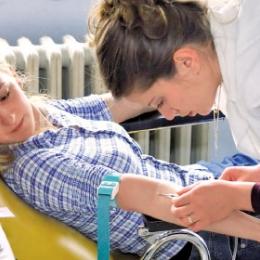 Tinerii, mai afectaţi de anemie decât vârstnicii