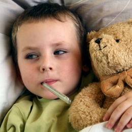Copiii, vulnerabili în faţa gripei
