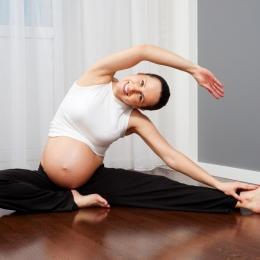 Întărirea muşchilor abdominali, pentru o naştere mai uşoară