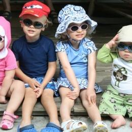 Copiii trebuie să poarte ochelari de soare sau nu?
