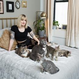 Viitoare mămici, grijă mare: pisicile vă pot pune sănătatea în pericol!