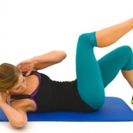 Sportul înseamnă sănătate ! Exerciții pentru abdomen și coapse