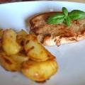 Cotlet de porc la cuptor cu cartofi